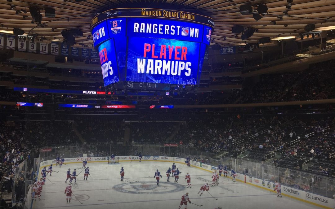 NHL-RESA TILL NEW YORK 9-13 JANUARI 2019